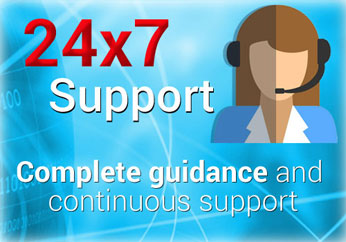 24*7 Support